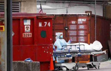 GRAD U KOME SE OD KORONE UMIRE NA SVAKA 3. MINUTA: U Njujorku su i kamioni mrtvačnice, koristi se i čuveni Medison skver garden