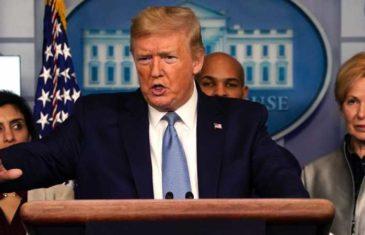 """""""OVO ŠTO VODIMO JE RAT"""": U dramatičnom govoru Trump najavio UVOĐENJE RATNOG ZAKONA"""