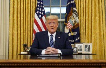 TRUMP SE OBRATIO NACIJI I OBJAVIO ODLUKU BEZ PRESEDANA: 'Naredio sam zabranu svih putovanja iz Europe za Sjedinjene Države sljedećih mjesec dana'