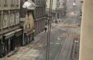 DVA SNAŽNA POTRESA UZDRMALA HRVATSKU: Užasni prizori iz Zagreba, dio grada nema struje, fasade se obrušile na vozila, LJULJALO SE I U BANJOJ LUCI…