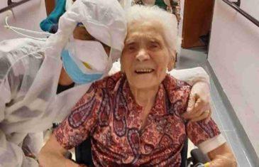 BAKA HEROJ (104) POSTALA SIMBOL NADE U NAPAĆENOJ ITALIJI: Preživela dva rata pa i koronu! Njen osmeh dirnuo je sve!