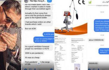 'Teško dobavljivi' respiratori dostupni i na Facebooku: Kako je Fikret Hodžić iskoristio svoje 'veze'