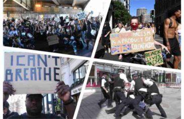 UBISTVO AFROAMERIKANCA JE ZAPALILO SVET Neredi i protesti u Londonu, Berlinu, Torontu…Organizatori kažu: TO JE POČETAK