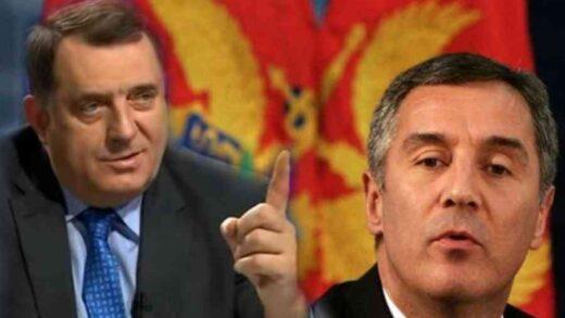Dodik se oglasio zbog odluke Crne Gore da ne otvori granicu za građane BiH i Srbije
