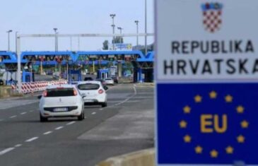 SAOPĆENJE MUP-a SUSJEDNE DRŽAVE: Bosanskohercegovački državljani mogu u Hrvatsku samo u…