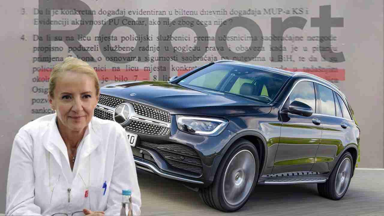 Raport otkriva: Sebija Izetbegović imala saobraćajnu nesreću. Zašto je MUP nije zabilježio?