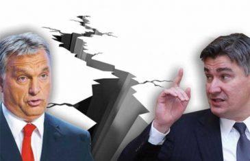KAKVA ŠAMARČINA: Orban zbog mape VELIKE MAĐARSKE DOBIO pljusku od Plenkovića i Pahora