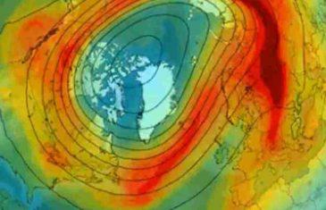 PROCURIO VIDEO: Pogledajte što se nakon mjesec dana dogodilo sa ogromnom ozonskom rupom iznad naših glava…