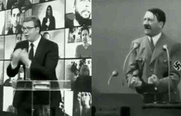 """ZAŠTO VUČIĆ """"SKIDA"""" HITLERA: Ako neko govori kao Hitler, ima izborni slogan kao Hitler, gestikulira kao Hitler, onda mora da je…"""