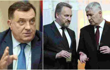 ŠTO GORE TO BOLJE: Hoće li Dodik srušiti dogovor Izetbegovića i Čovića?