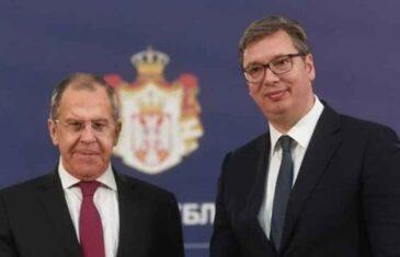 """VUČIĆ JE ZABRINUT: """"Od Lavrova sam dobio zabrinjavajuće informacije po pitanju Kosova"""""""