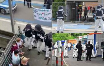 NOVO ŽARIŠTE KORONE U NJEMAČKOJ: Stanari došli u sukob sa policijom, osmero povrijeđeno