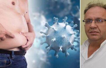 Dr. Pašić o vezi između korone i pretilosti: Ti pacijenti uglavnom završe na respiratoru