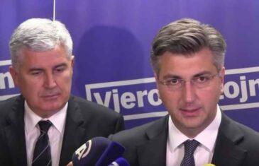 ČOVIĆEV I PLENKOVIĆEV PAKLENI PLAN: Nakon izbora u Hrvatskoj, HDZ planira aktivirati priču o podjeli BiH na…