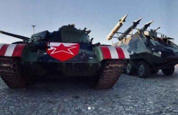 """""""ZVECKANJE TEŠKOM ARTILJERIJOM"""": Nakon tenka, na Marakanu stigao i raketni bacač"""