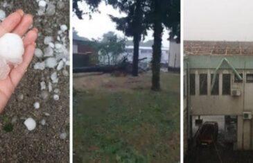 Crni oblaci primiču se sa zapada: Olujno nevrijeme stiglo u Hrvatsku, pomahnitali vjetar čupao stabla, nosio krovove…