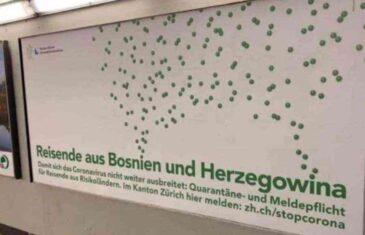 GORE DRUŠTVENE MREŽE ZBOG PLAKATA U ŠVICARSKOJ: Bosanci i Hercegovci, prvo u…