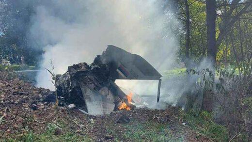 JEZIVE SCENE SA MJESTA NESREĆE! Ovo je avion MiG-21 u kojem je poginuo pilot