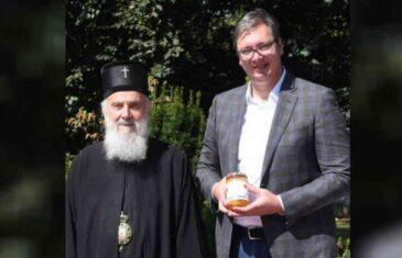 VUČIĆ S IRINEJEM: Patrijarh SPC-a posebno interesovanje iskazao za…