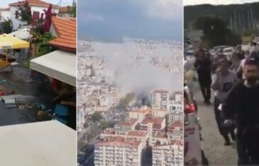 Strašan potres pogodio Grčku i Tursku: Urušile se zgrade, more poplavilo gradove, Izmir pogodio i manji tsunami!