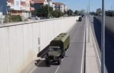 TURSKA PREBACUJE S-400 NA CRNO MORE: Snimljen konvoj kako se kreće ka gradu Samsunu