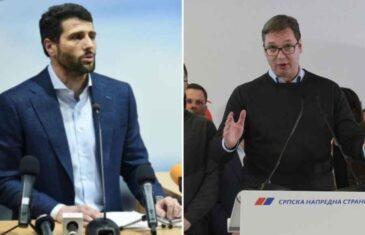 """ŠAPIĆ OHLADIO VUČIĆA: """"Neću biti ministar u novoj vladi Srbije, ostat ću…"""""""