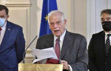 ČOVIĆ I DODIK RAZOČARANI, KOMŠIĆ CVJETA: Pročitajte šta je Borrell rekao o identitetu, naciji i građanstvu
