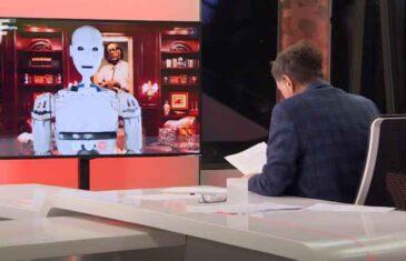 SENAD HADŽIFEJZOVIĆ UGOSTIO ROBOTA, evo šta mu je poručio ROBOT ROBY: Senad se počeo smijati kad je ovo čuo…