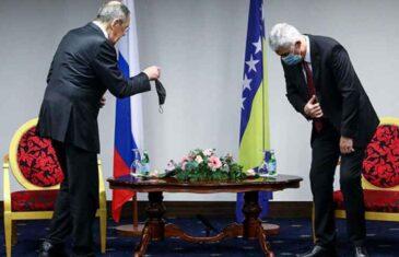 KO JE DOMAĆIN, A KO JE BIO GOST: Čovićev susret s Lavrovom Ambasada Rusije…