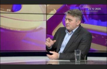 """KOMŠIĆ GOVORIO ZA """"DNEVNIK D"""": """"Razgovorao sam s njemačkom ambasadoricom o šefu OHR-a, ali ne želim iznositi detalje""""!"""