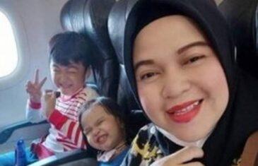 Posljednja poruka majke s djecom prije nego što se srušio avion: Sada idemo kući…