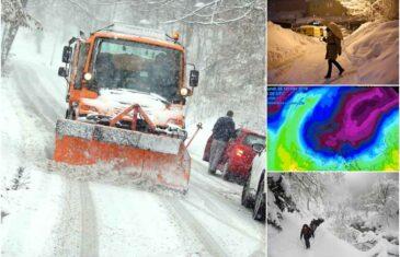 DRAMATIČNO UPOZORENJE U SUSJEDSTVU: Polarni val hladnoće zahvatio Hrvatsku, temperature u drastičnom padu…