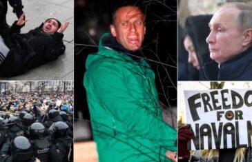 PANIKA U KREMLJU: Navaljnog čeka dugogodišnji zatvor, Rusi su na nogama, hiljade ljudi u zatvorima. Šta sada slijedi?