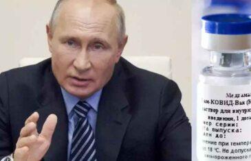 NIŠTA NIJE SLUČAJNO; PUTINOV GLOBALNI TRIJUMF: Rusku vakcinu, u koju su mnogi sumnjali, sada traži…