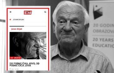 DO PODNE ČIKA JOVO, OD PODNE ČIČA JOVA: Ovo je 'STAV' SDA o generalu Divjaku čiji je profil sačinio zloglasni bot Mustafa Drnišlić