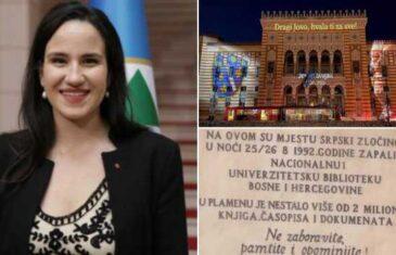 Da li je gradonačelnica Sarajeva pala već na prvom ispitu? Jer tako se ne čuva obraz grada…