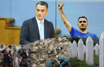 """PONAŠAJ SE PRISTOJNO, LEPOSAVIĆ SAM TI REKAO: """"Hristovi vojnici DF-a sačuvat će negatora genocida u Srebrenici, a zbog toga će od velike Srbije ostati samo male gusle"""""""