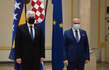 """ŠTO JE BITNO, TO JE HITNO; ČOVIĆ U ZAGREBU NA SASTANKU S GRLIĆEM RADMANOM: """"Izborni zakon ključna je pretpostavka za…"""