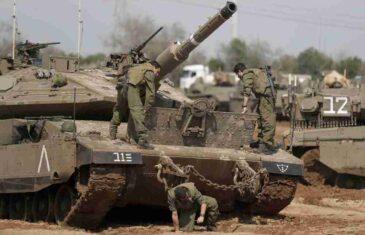 IZRAEL POKRENUO KOPNENU INTERVENCIJU: Poslije snažne artiljerijske pripreme, krenule oklopne jedinice i pješadija! PAKLENA NOĆ U GAZI