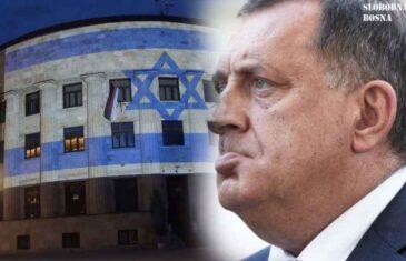 """""""ZNAJU LI DA JE IZRAEL PRIZNAO KOSOVO…"""": Dodikov režim se propisno osramotio, pljušte reakcije nakon što je na Palati RS-a osvanula zastava Izraela"""