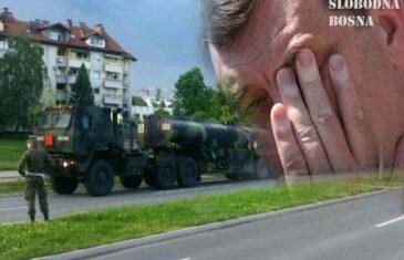 UZBUNA U REPUBLICI SRPSKOJ: Američka vojska prodefilirala kroz Banju Luku, stižu brojne reakcije na adresu Milorada Dodika…