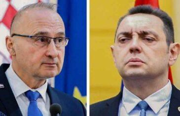 NASTAVLJEN SPRSKO-HRVATSKI RAT SAOPĆENJIMA: Grlić Radman uputio novu poruku Aleksandru Vulinu