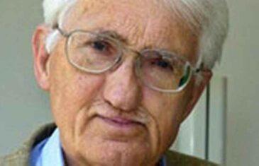 NIJE ON NI HANDKE, NI VUČIĆ: Vodeći svjetski filozof JURGEN HABERMAS odbio nagradu iz Abu Dhabija vrijednu 270 hiljada dolara zbog…