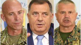 UTIČU LI DODIKOVE NAJAVE O UKIDANJU OSBIH NA FUNKCIONISANJE DOMAĆE VOJSKE: Evo šta kažu američki i bh. generali…