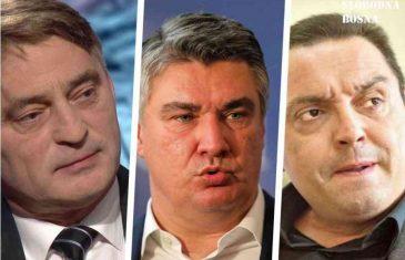 TRAČ PARTIJA SENADA AVDIĆA: Željko Komšić je u krivu; Hrvatski Aleksandar Vulin je predsjednik Zoran Milanović