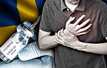 Švedska je obustavila uporabu cjepiva Moderne za Covid za mlađe odrasle osobe zbog zabrinutosti oko rijetkih nuspojava upala srca