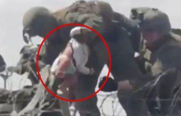 Sjećate li se bebe koju je preko žice spasio marinac? Sada se pojavila cijela priča o njenom mučnom bijegu…