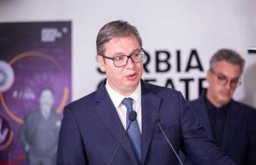 """ALEKSANDAR VUČIĆ IZ DUBAIJA NAPAO HRVATSKU: """"Ovo su brutalne laži, Srbija neće da se trese od straha"""""""
