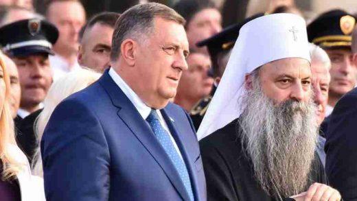 """NEKULTURA I BAHATOST VOŽDA: Dodik sinoć u prisustvu patrijarha koristio stari vokabular – """"Ajd ne s*ri"""""""