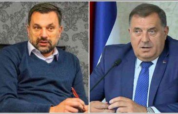 """KONAKOVIĆ PRIZEMLJIO MILORADA: """"Dok koruptivni kisik ubija ljude, Dodik doveo…"""